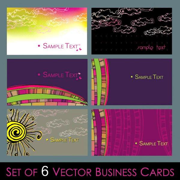 Cartoon tonic card template vector material