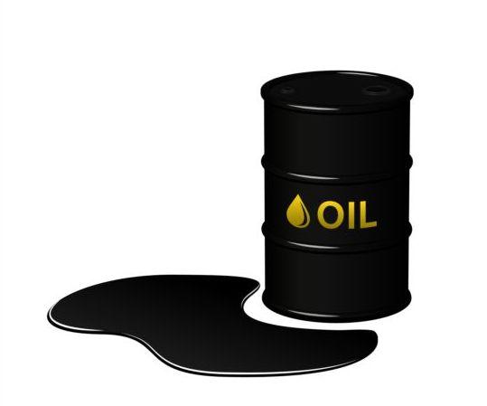 Barrel of oil vector