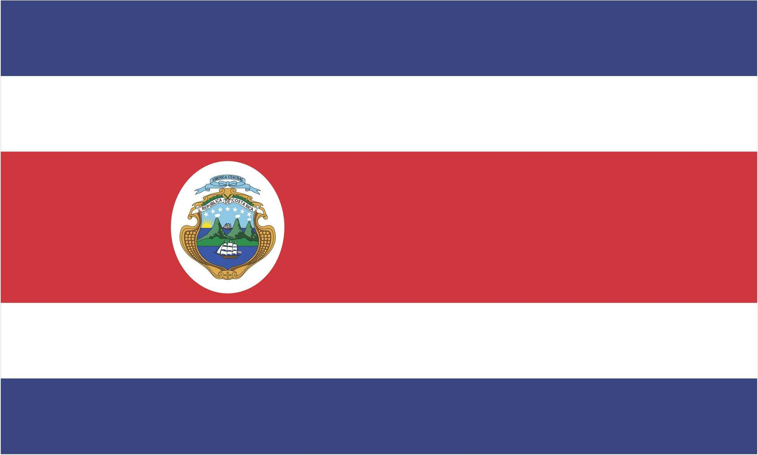 Costa Rica Flag Vector EPS Free Download, Logo, Icons, Brand Emblems