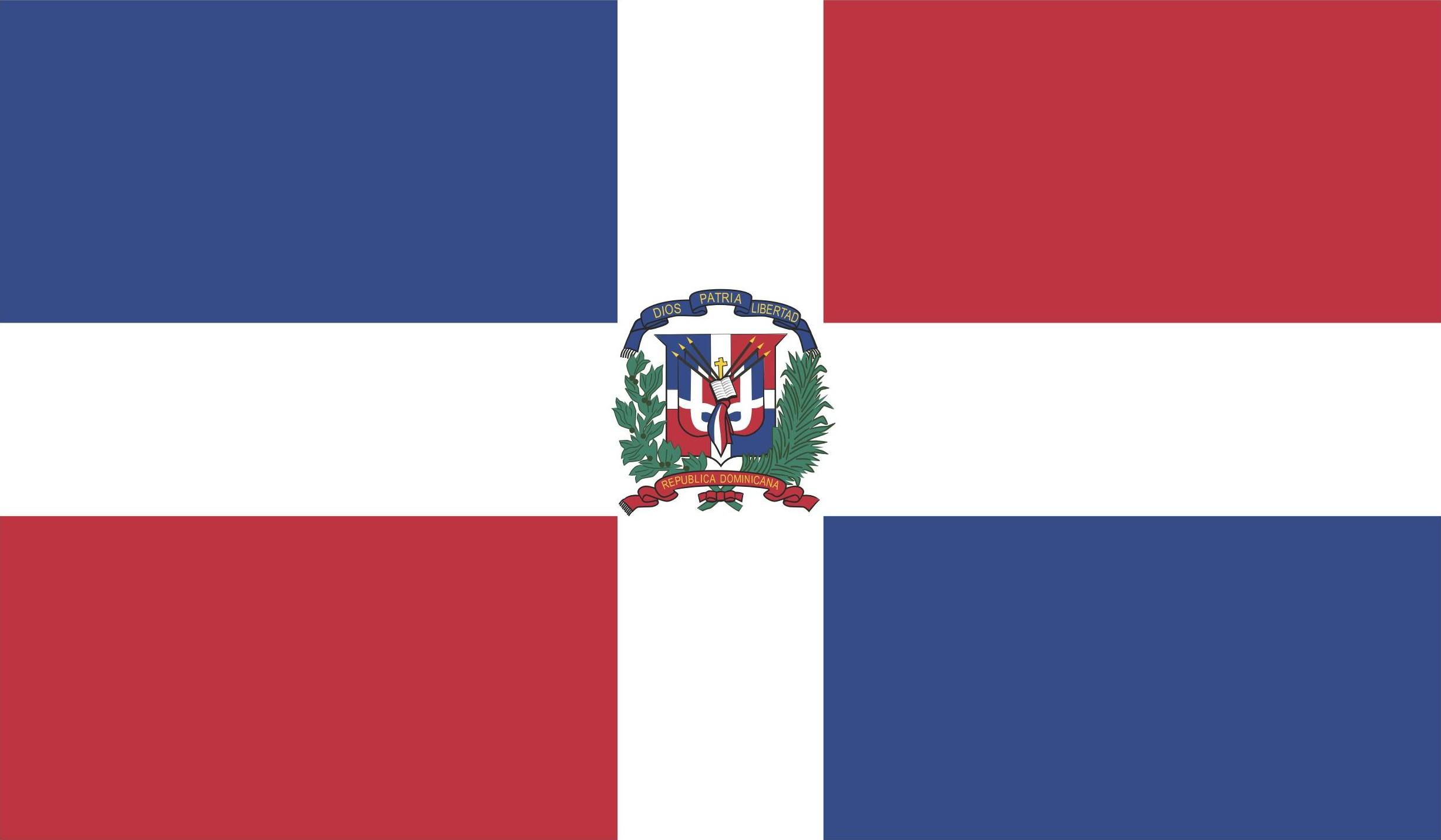Dominican Republic Flag Vector EPS Free Download, Logo, Icons, Brand Emblems