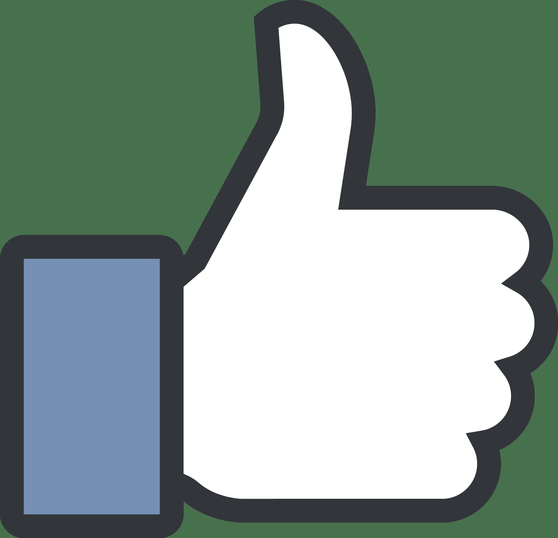 Facebook Like Logo Vector [EPS File]