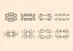 Free Scroll Swirly Vectors