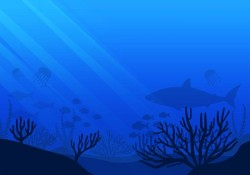 Free Sea life Seabed Vector