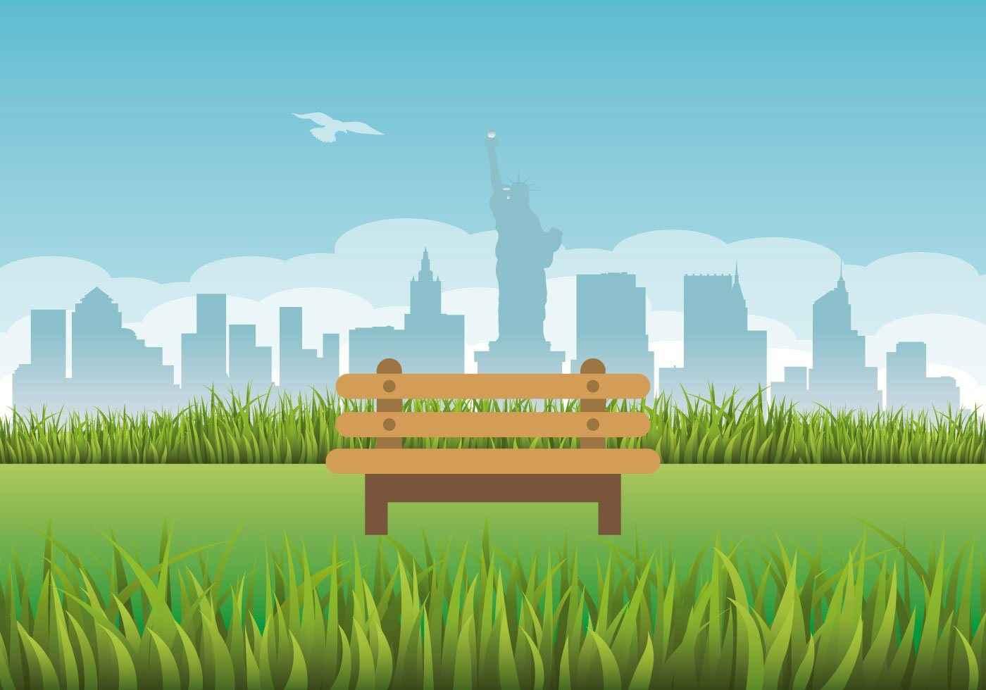 New York Illustration Vector