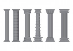 Roman Pillar Vector