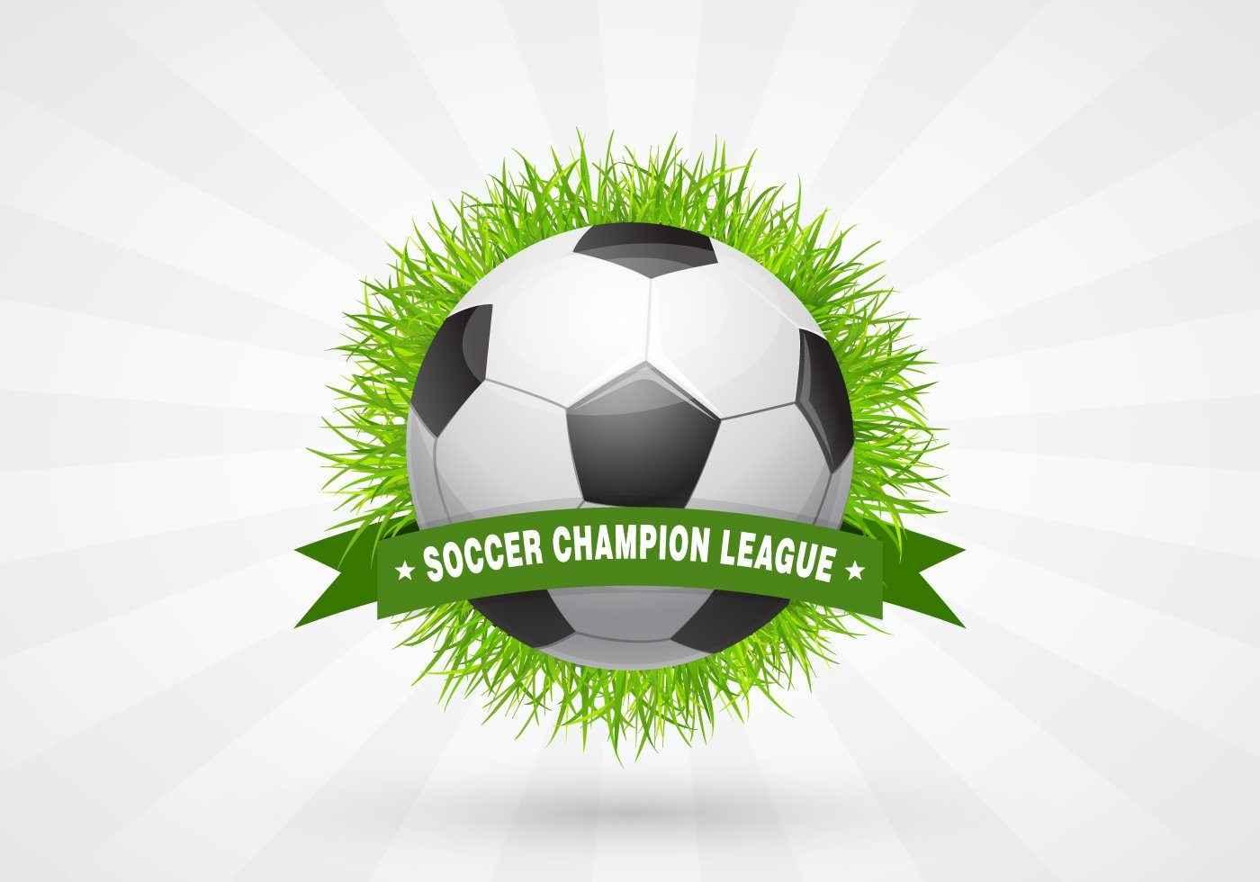 Soccer Champion League Design