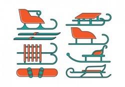 Toboggan Icons