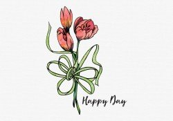 Watercolor Flower Greeting Card