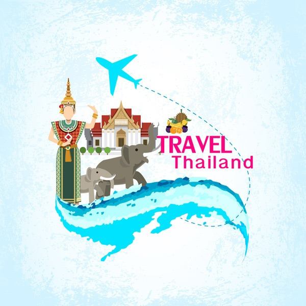 Thai tourist pattern