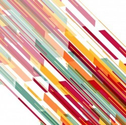 Abstract background with colorful diagonal stripes