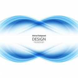 Abstract infinite symbol background