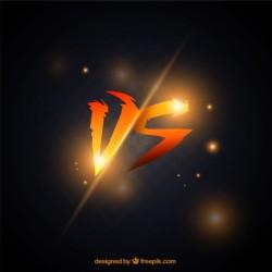 Orange versus background