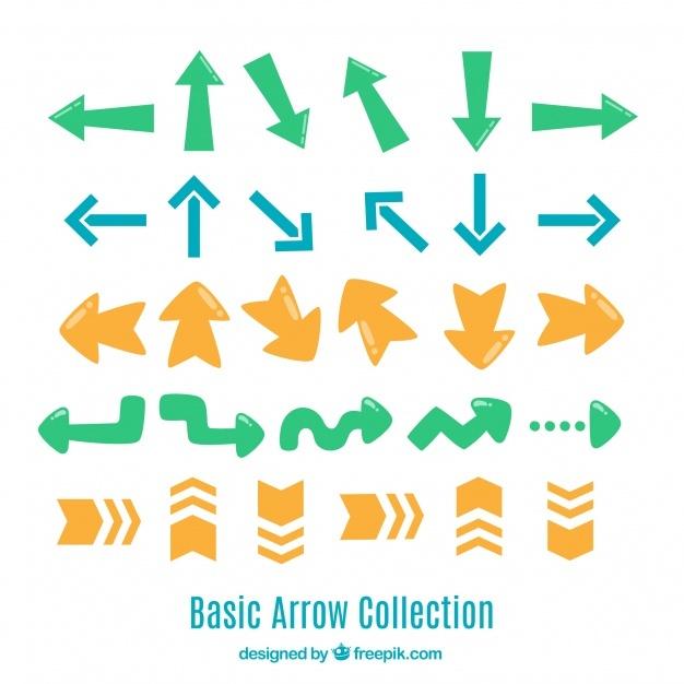 Original variety of fun arrows