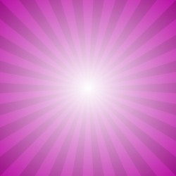 Abstract gradient ray burst background – hypnotic vector graphic from radial rays