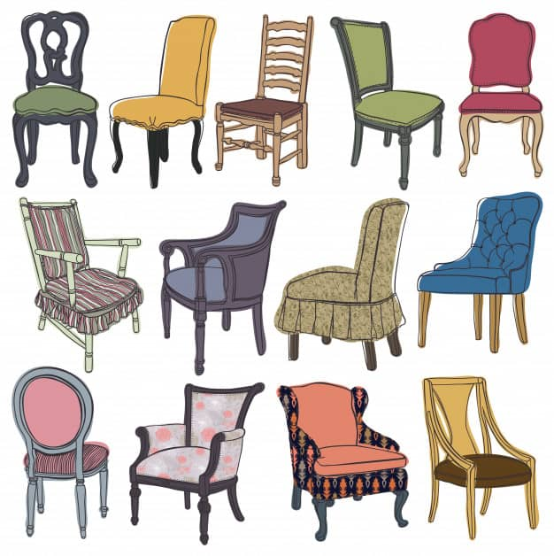 Chairs&armchairs set