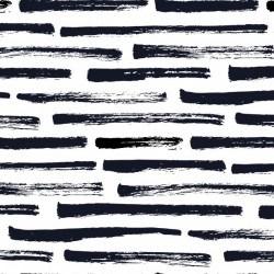 Dry brush stripes pattern