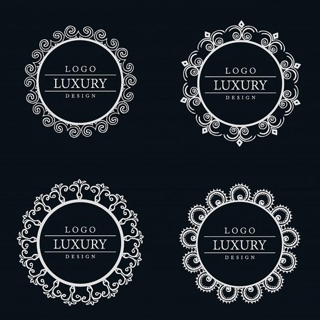 Vector Amazing Luxury Logo Designs