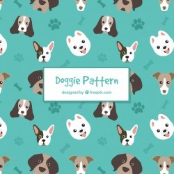 Dog pattern collection