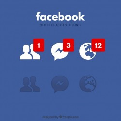 Facebook notification icons