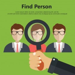 Find person for job