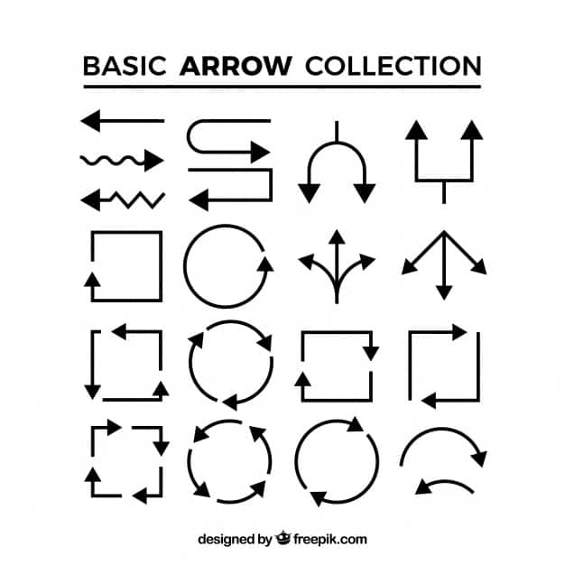 Lineal arrow collection
