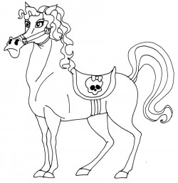 Headless Horseman Coloring Pages