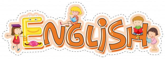Word design for school subject english