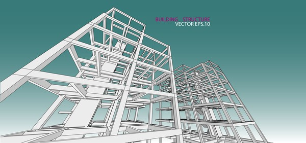 building structure vector illustration 01