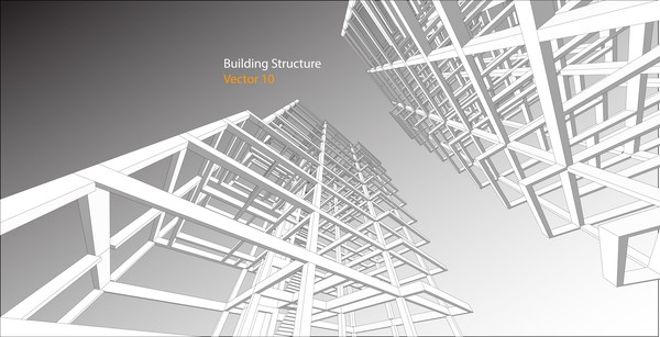 building structure vector illustration 02
