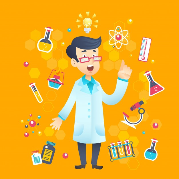 Chemist Scientist Character