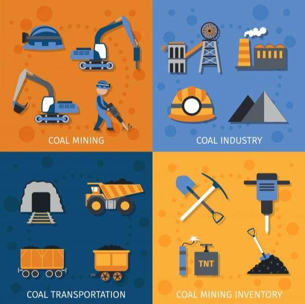 Coal Industry Set