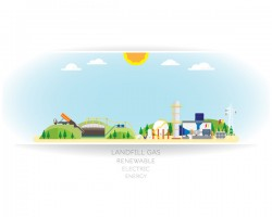 gas energy white background vector free download