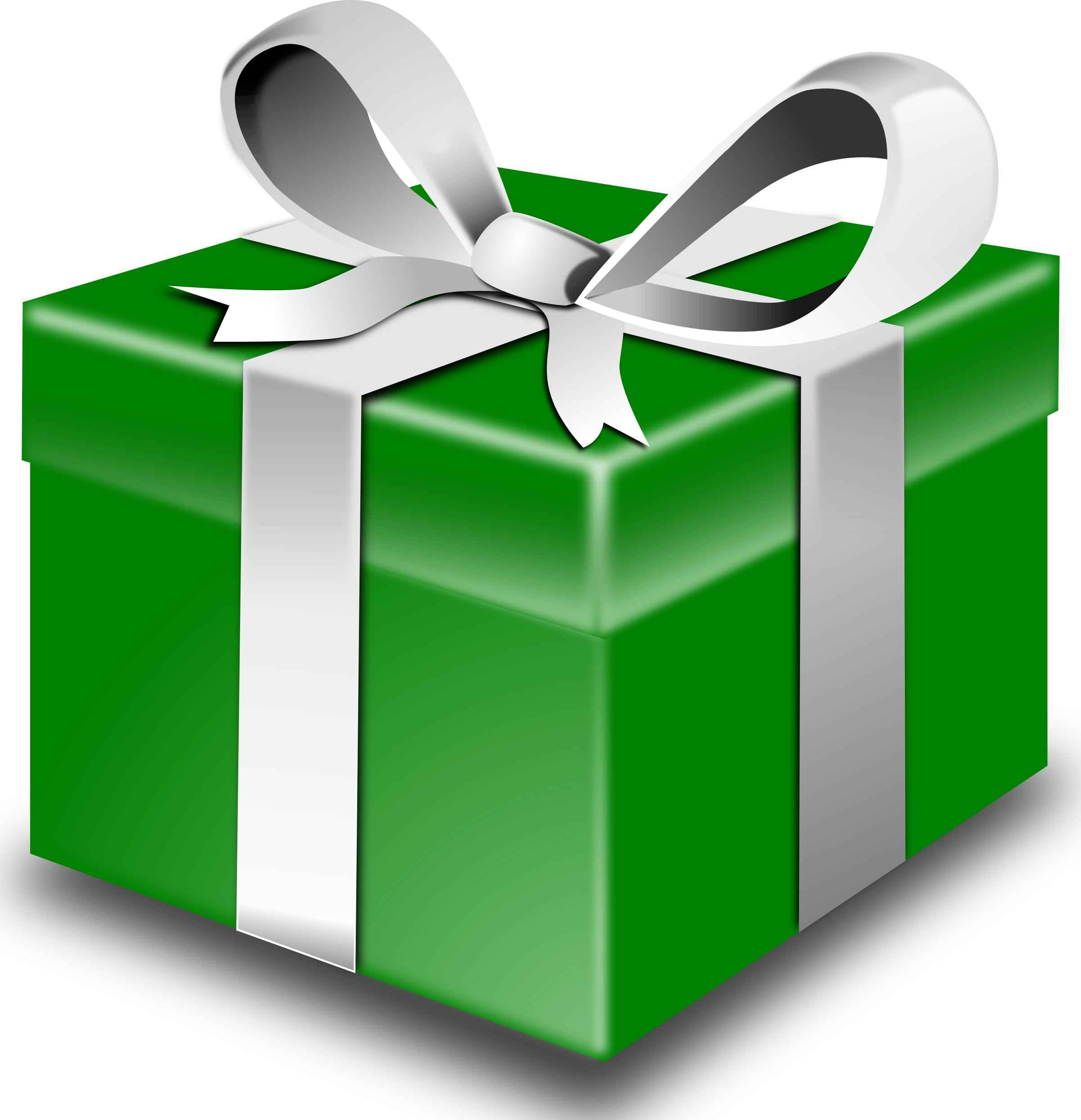 Green present Icons PNG
