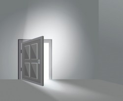 Room Door Open