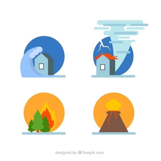 Set of natural disasters