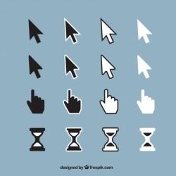 Standard cursor set