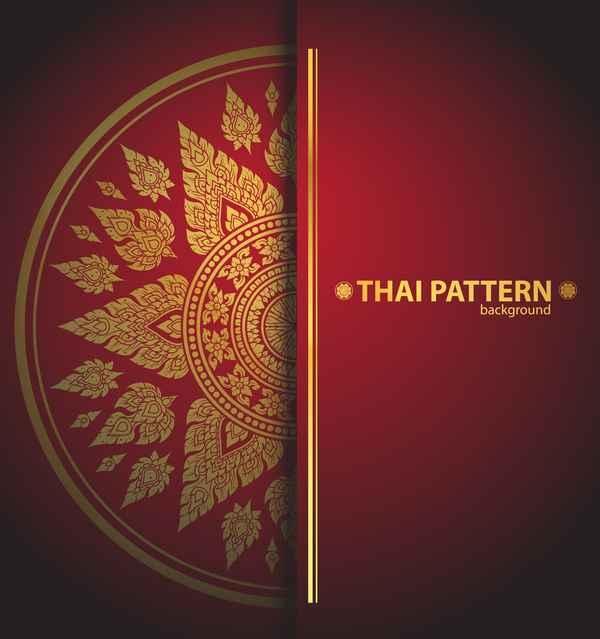Thai pattern background
