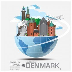 World travel of denmark