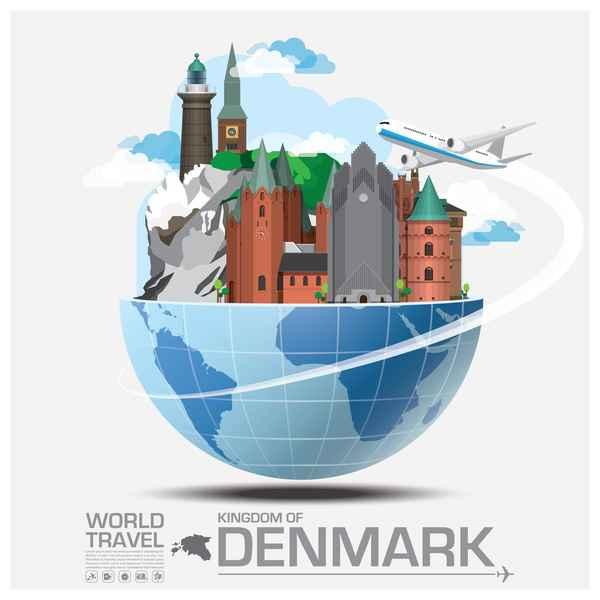 World travel of denmark
