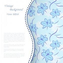 Elegant retro background vector 09