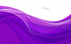 Violet abstract background with wave vector