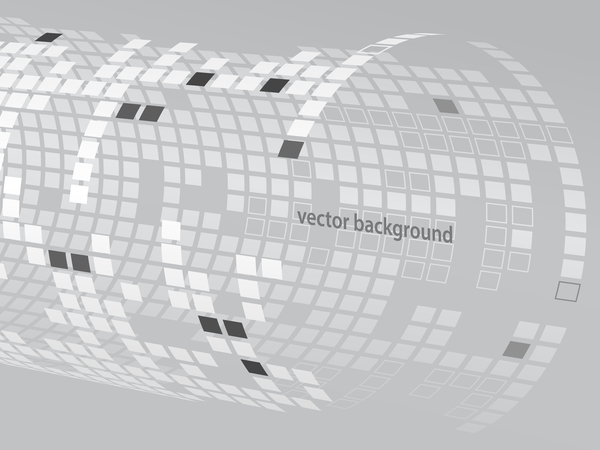 Back tubes with white background vector 02