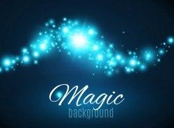 Magic light shine background vector 01