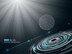 Future technology background creative design 02