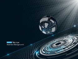 Future technology background creative design 05
