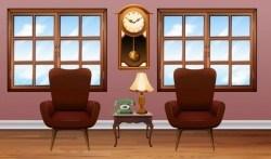 Indoor decorations design vectors set 12