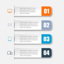 Business Infographic creative design 4606