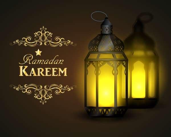 Creative ramadan jareem dark color background vector 01