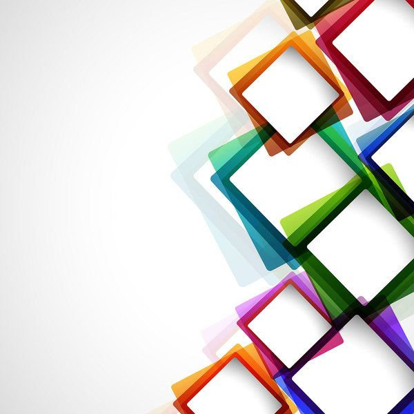 Vector modern colorful background art