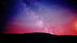 wallpaper 1920×1080 starry sky